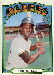 1972 Topps Baseball Cards      238     Leron Lee